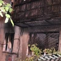 В Алматы сгорела квартира