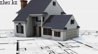 По программе «Нурлы жер» начинают строить первые частные дома