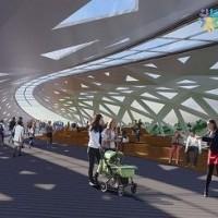 В Астане построят 270-метровый пешеходный мост