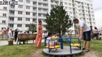 Еще 168 очередников Алматы получили ключи от квартир в Атлетической деревне